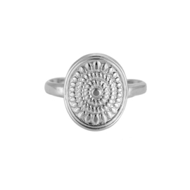Ring 'Leia' zilver