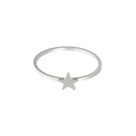 Ring 'Wish Upon A Star' zilver #17