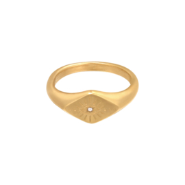 Ring 'Evil Eye' goud