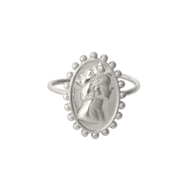 Ring 'Rule The World' zilver