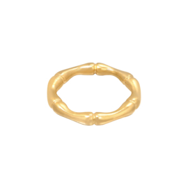 Ring 'Bamboo' goud