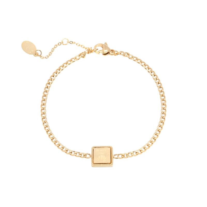 Armband 'Mermaid Vibes' goud