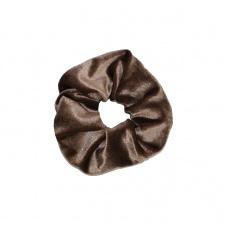 Scrunchie 'Sweet Velvet' bruin