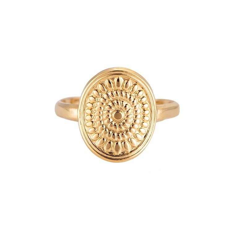 Ring 'Leia' goud