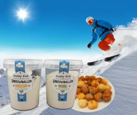 Kokosmakronen - Sneeuwballen
