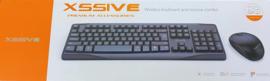 XSSIVE wireless toetsenbord en muis