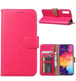 Roze Booktype voor de Samsung S Serie