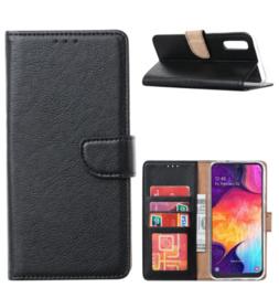 Zwart Booktype voor de Samsung S Serie