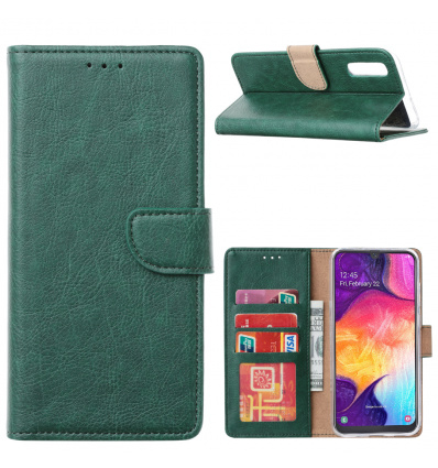 Groen Booktype voor de Samsung A Serie