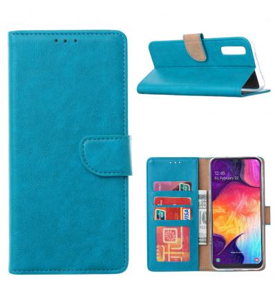 Blauw Booktype voor de Samsung A Serie