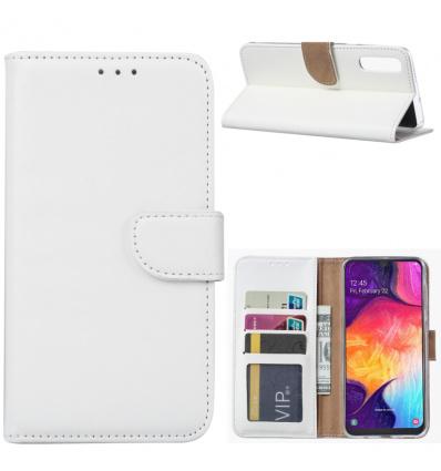 Wit Booktype voor de Samsung A Serie