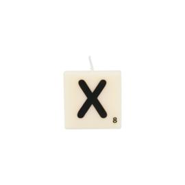 Letterkaars X