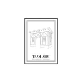 Poster tram abri