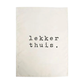 Theedoek   Lekker thuis