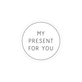 Sticker my present for you | set van 2