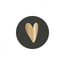Sticker hartje | set van 2