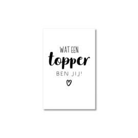 Mini-kaart | Topper