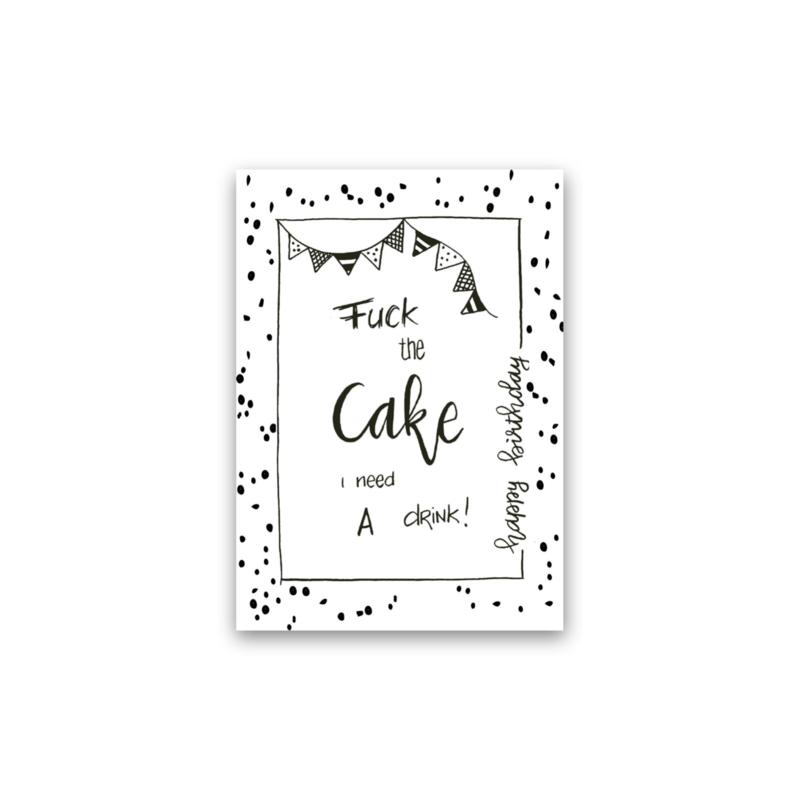 Kaart   Fuck the cake
