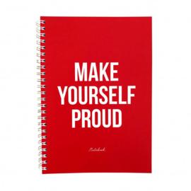 Notitieboek A5 'Proud'