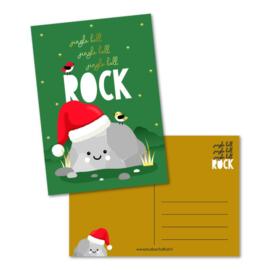 Kaart 'Jingle bell rock'