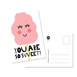 Kaart 'You are so sweet!'