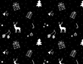 Inpakpapier 'Kerst'