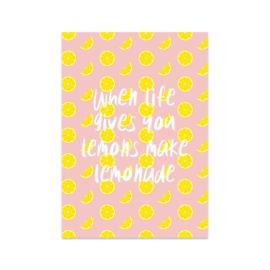 Kaart 'Lemonade'