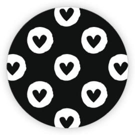 Sticker 'Hartjes' (10 stuks)