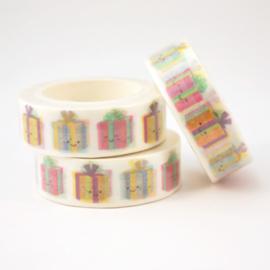 Washi tape 'Cadeautje'