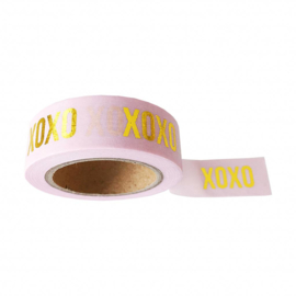 Washi tape 'XOXO'