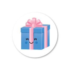 Sticker 'Cadeau'
