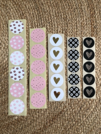 Sticker set 'Liefde'