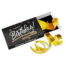 Cadeaudoosje 'Happy birthday'