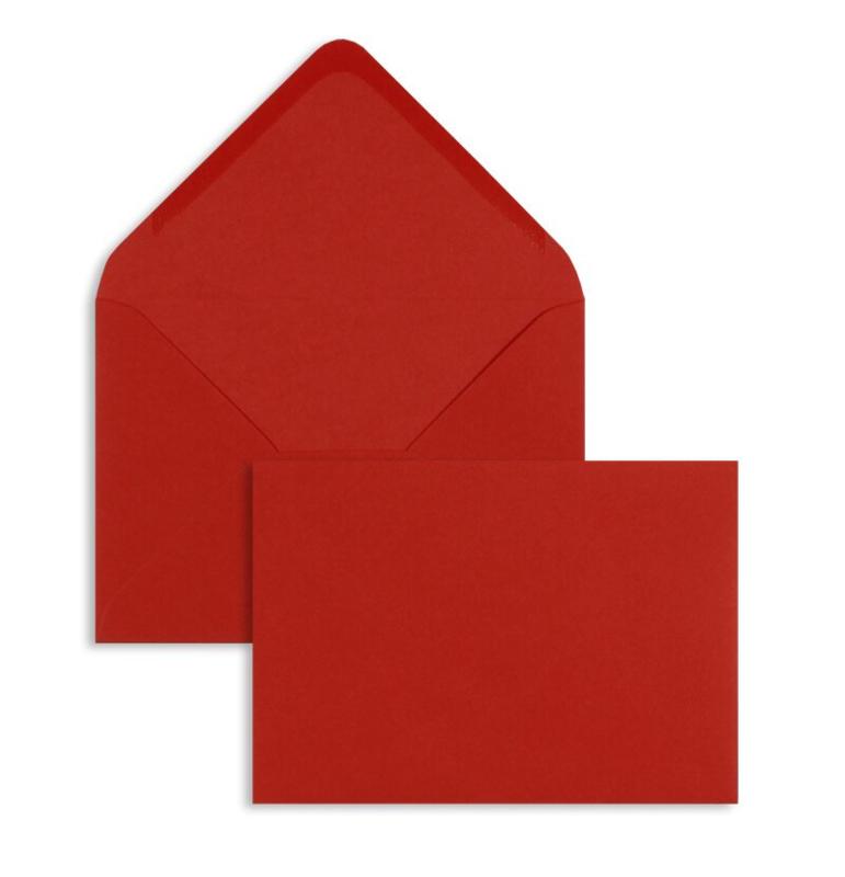 Envelop rood