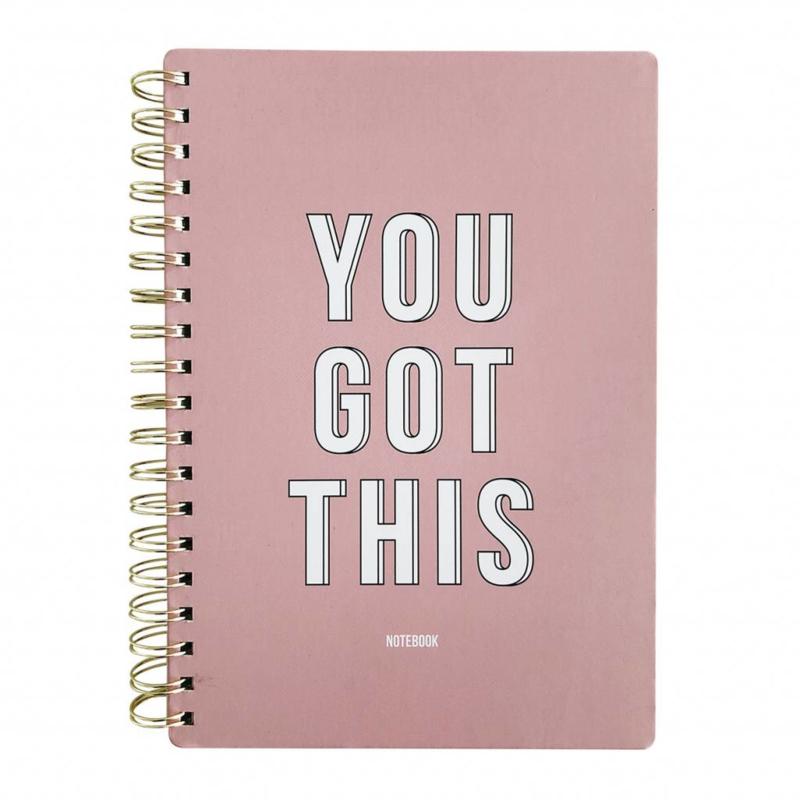 Notitieboek 'You got this'