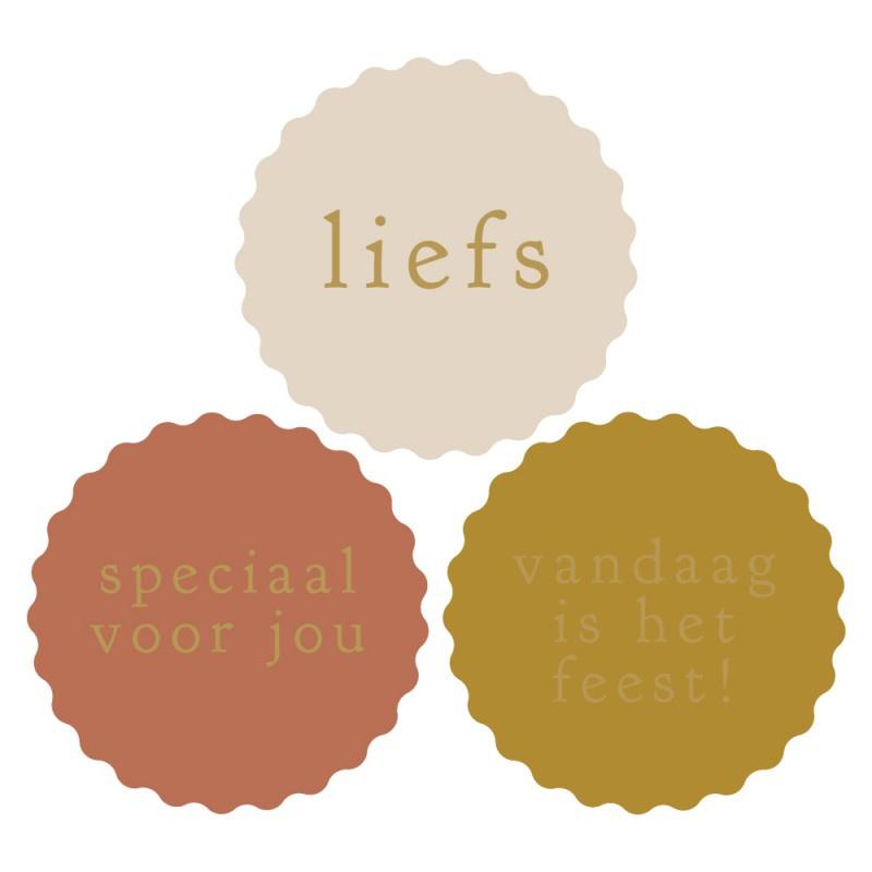 Sticker set '3 Lieve teksten'