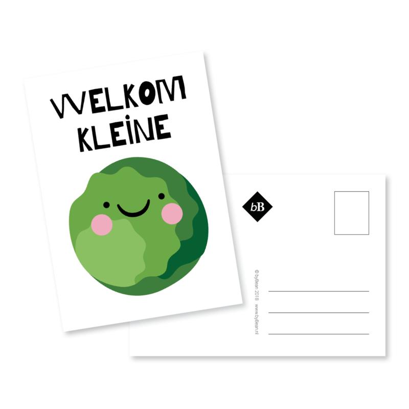 Kaart 'Welkom kleine spruit'