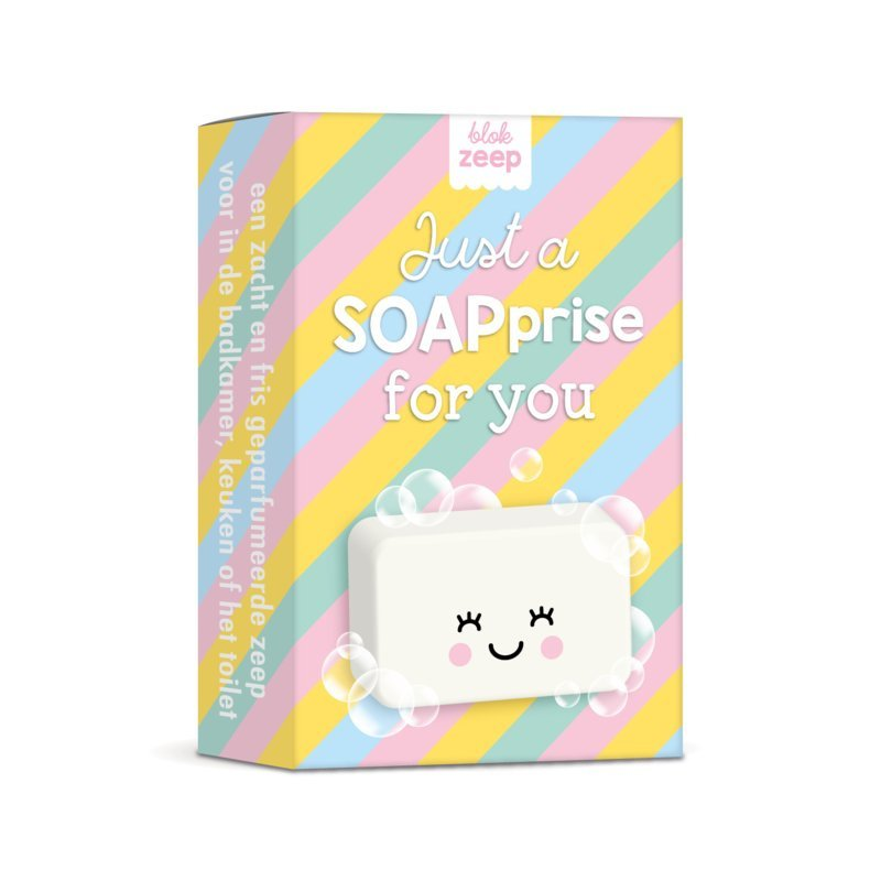Zeep 'Just a soaprise for you'