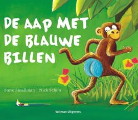 Boek - De aap met de blauwe billen