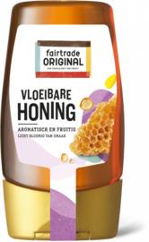 Vloeibare honing in een knijpfles