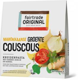 Kruidenpasta Marokkaanse groente couscous