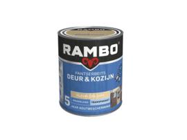 Rambo Deur & Kozijn Transparant Zg