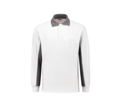 Workman Bi-colour Polo Sweater