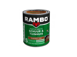 Rambo Schuur & Tuinhuis Transparant Zg