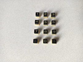 Selection Button (Set) Seeburg LS1 t/m LS3