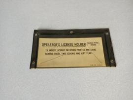 Licene Holder (Seeburg Bandshell)