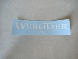 Sticker Wurlitzer (White)
