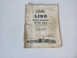 Installation Manual Bally Lido (1961) Bingo