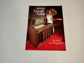 Flyer /Folder  (Rock-ola 468 Grand Salon)