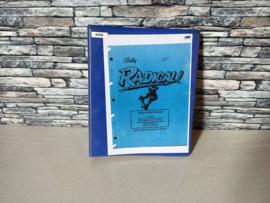 Service Manual (Kopy Map) Bally Radical 1990